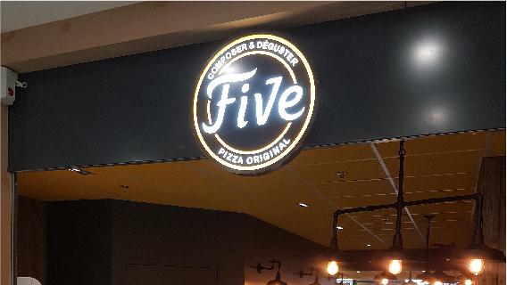 FIVE PIZZA